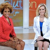 On the Set of The Revolution with my co-host, Dr. Jennifer Ashton